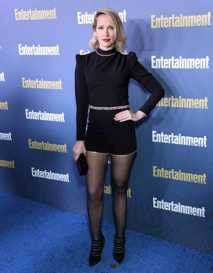 Anna Camp attends the Entertainment Weekly SAG Awards Nominees Celebration