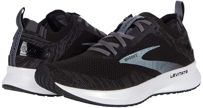 The lightweight Brooks Levitate 4 running shoes have a soft, secure fit that will see you through every mile with comfortable support and incredible responsiveness