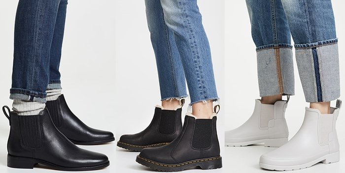 Chelsea boots are the way to go if you need shoes that go with jeans