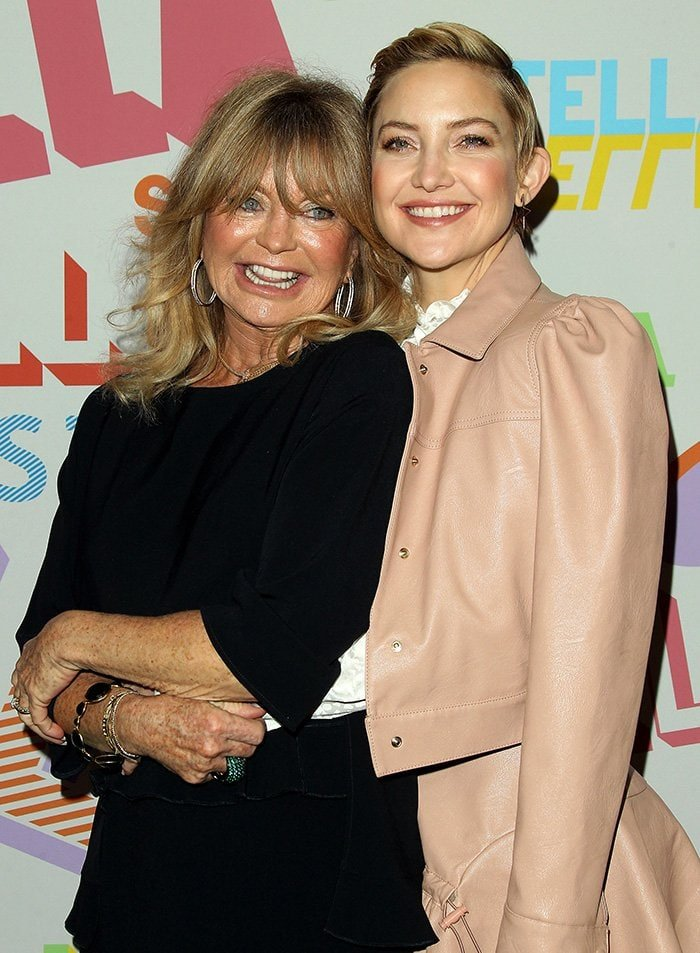 Goldie Hawn and her daughter Kate Hudson's resemblance is undeniable