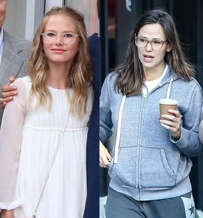 Violet Affleck is Jennifer Garner's exact copy