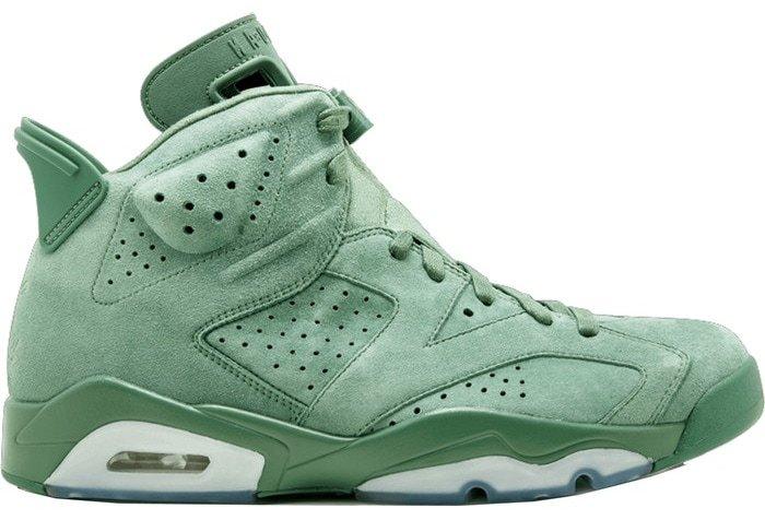 The Air Jordan 6 Cactus is a collaboration between Air Jordan and rapper Macklemore