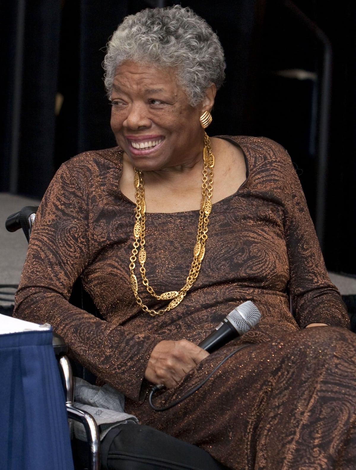 The celebrated African-American poet Maya Angelou did not write the poem asserting that Timberland is owned by the KKK