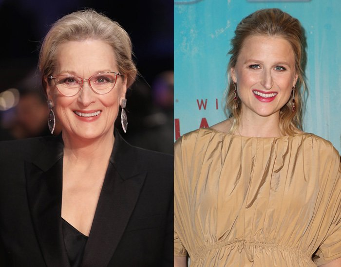 Mamie Gummer bears an uncanny resemblance to her mother Meryl Streep