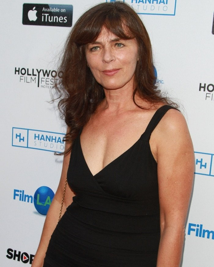 Photographed at the opening night of the Hollywood Film Festival at ArcLight Hollywood on September 24, 2015, in Hollywood, California, Croatian actress Mira Furlan died at her home in Los Angeles on January 20, 2021, due to complications with West Nile Virus