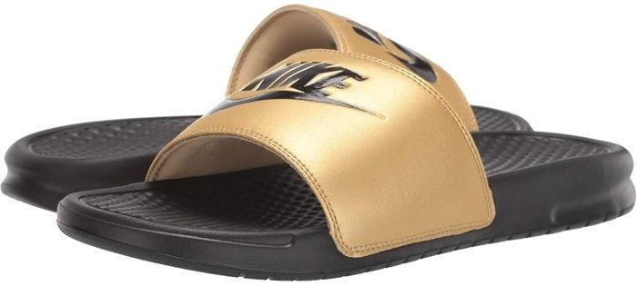Get ready for warmer weather with this super comfy, super sporty slide sandal