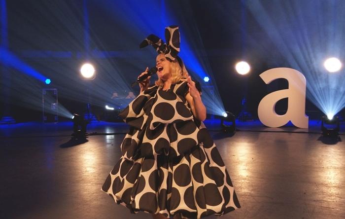 Paloma Faith performs at the Attitude Awards 2020 Virtual Ceremony