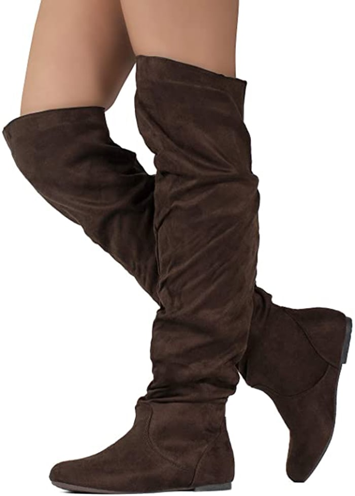 These boots are seriously amazing if you have wide calves