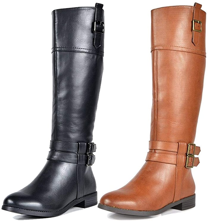 Be caught in the cutest knee high wide calf boots this fall and winter