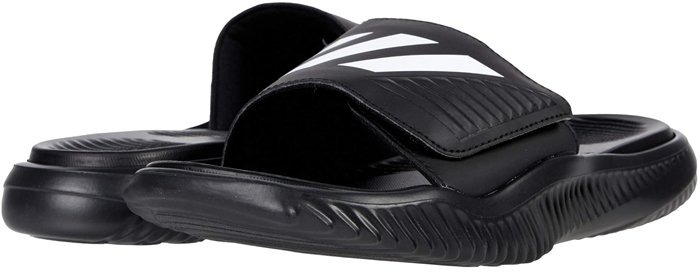 Freshen up tired soles after a grueling workout by slipping into this slide sandal that can be worn in the shower