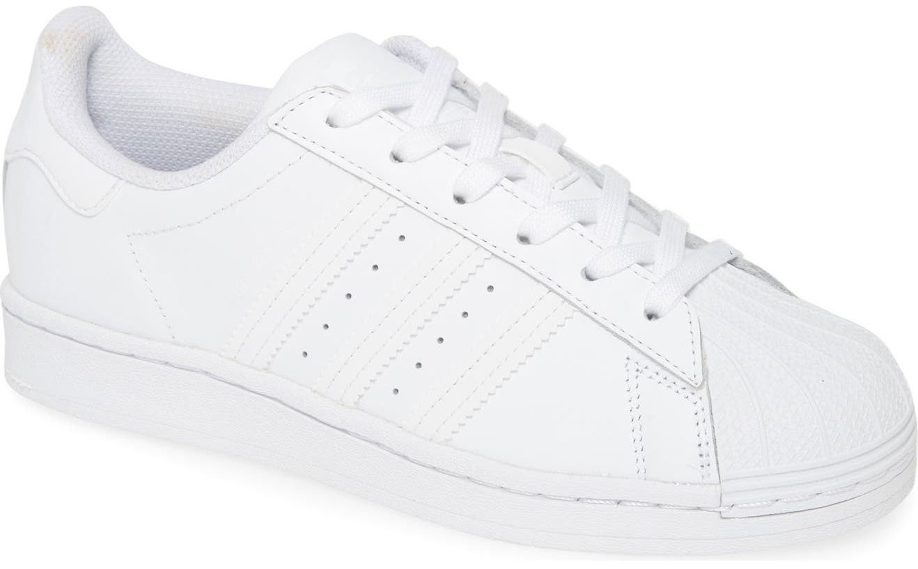Nothing's better than a pair of classic white sneakers like the Adidas Superstar