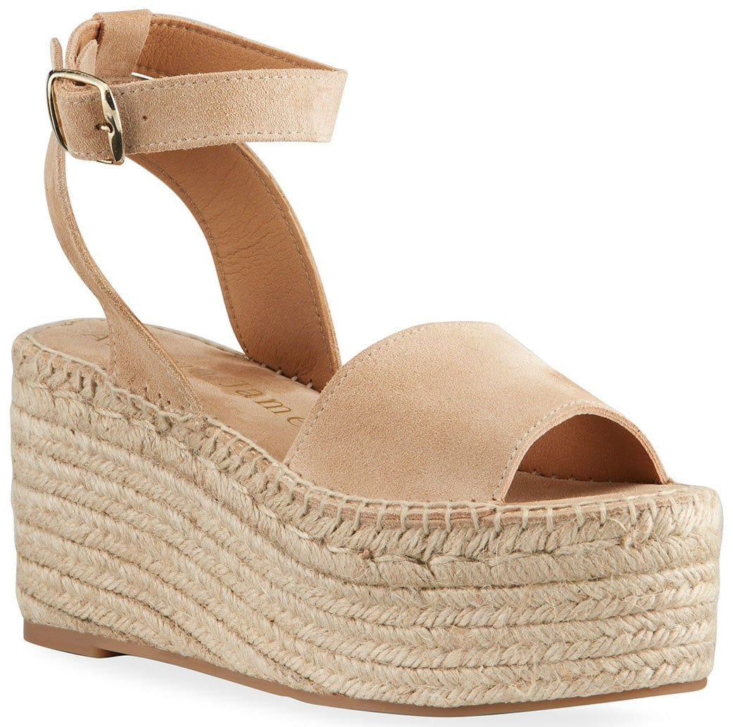 Platform espadrille sandals should keep your summer outfits comfy yet chic