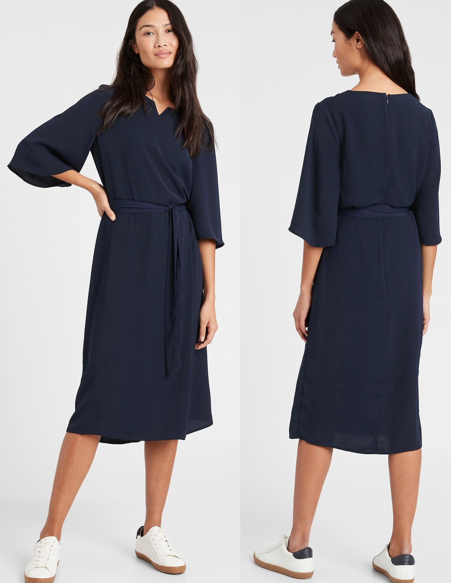 The label also has a wide selection of chic dresses that are suitable for the office