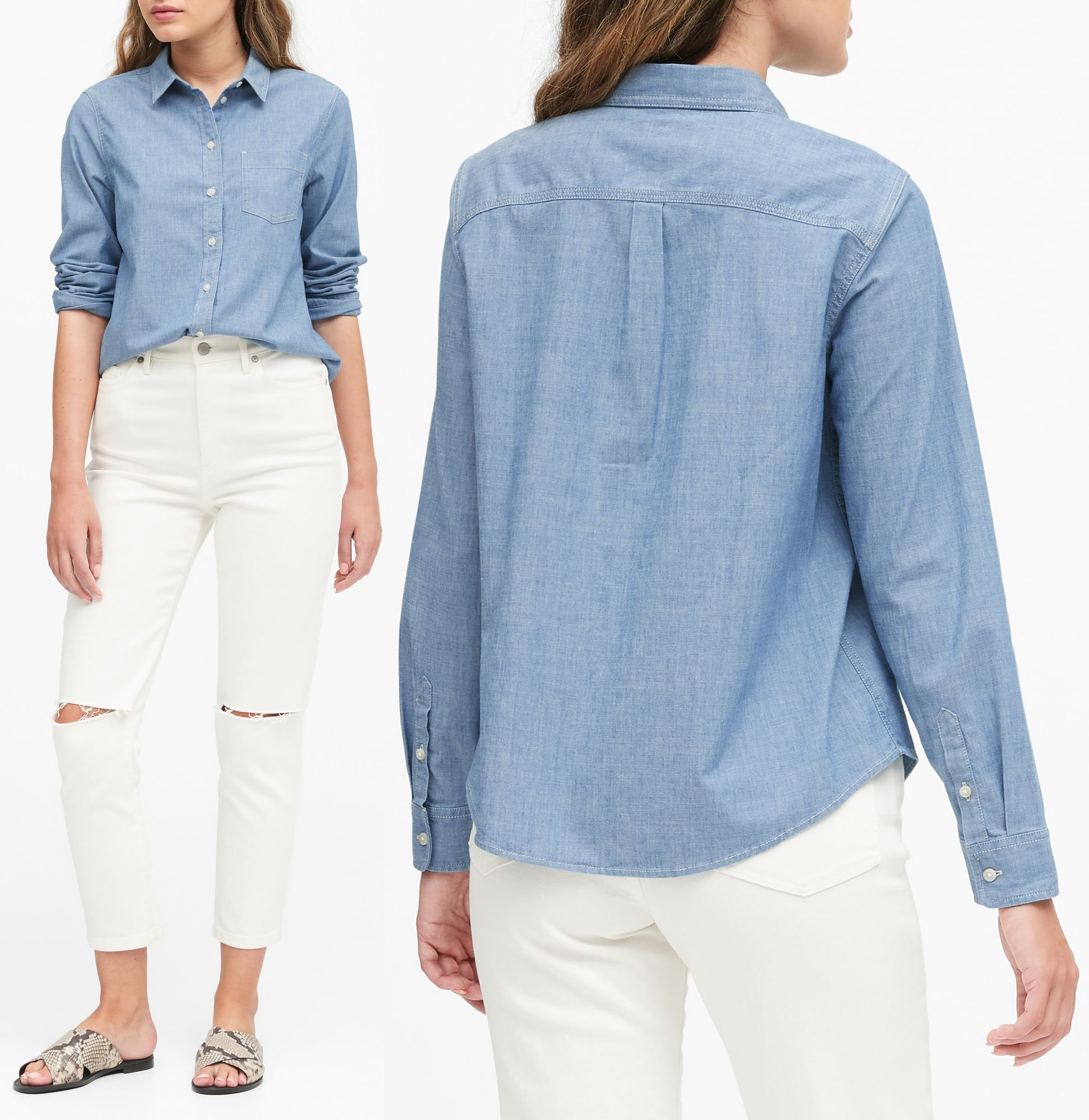 Banana Republic is a contemporary clothing company known for its easy elegance