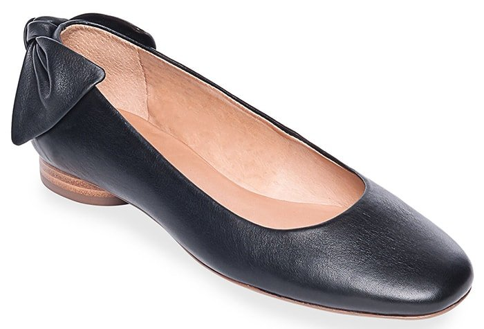 Dress appropriately and comfortably with these Bernardo Ballet flats