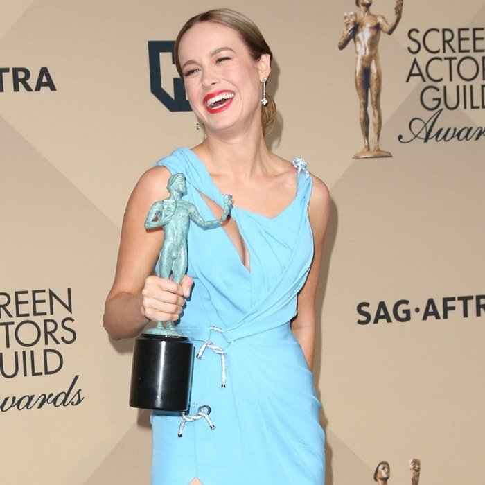 Brie Larson has received numerous accolades including an Academy Award, a Primetime Emmy Award, and a Golden Globe