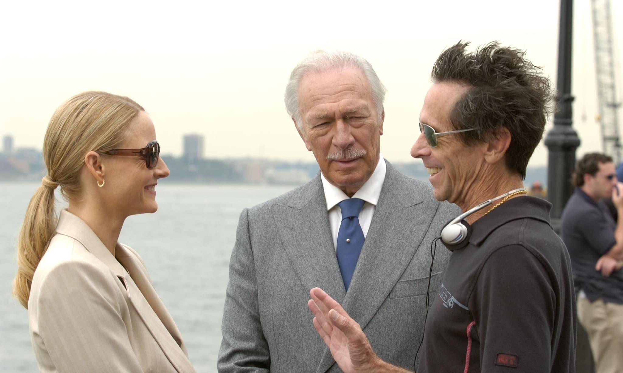 Jodie Foster, Christopher Plummer, and producer Brian Grazer