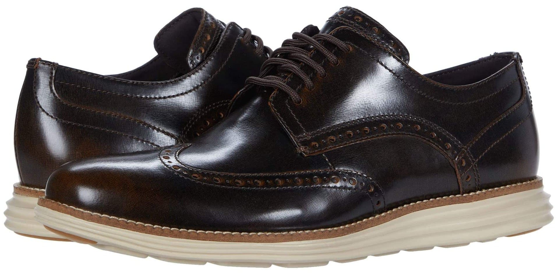 Incorporated with Cole Haan's Grand.OS energy foam for an incredibly comfortable oxford shoe