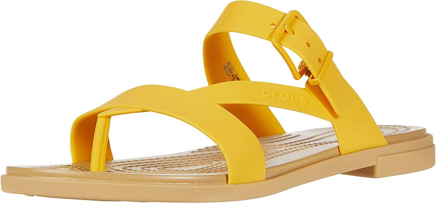 Enjoy summer rains with Crocs Tulum, featuring soft and flexible Matlite straps