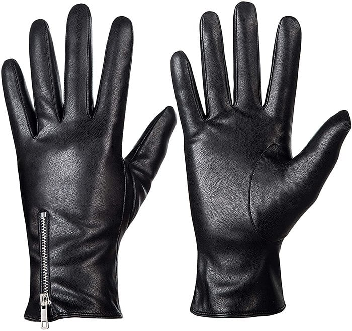 Make sure to wear a simple pair of gloves when you're out in the cold