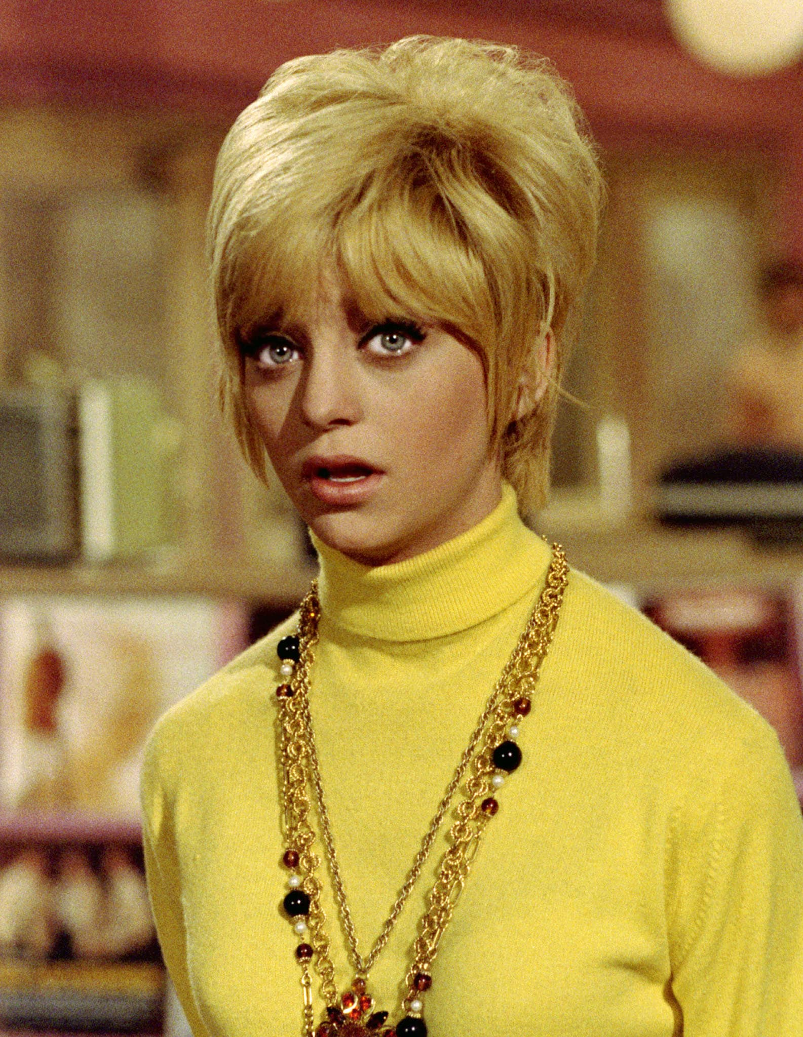 "Goldie Hawn from the film ""Cactus Flower"" in 1969"