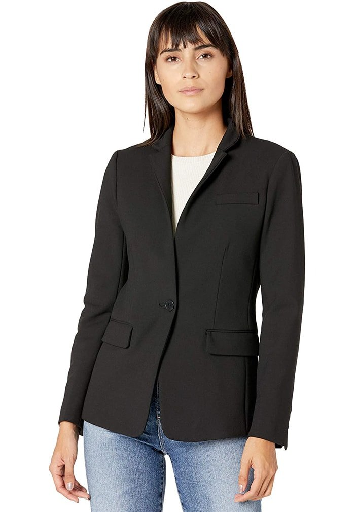 Add a sleek and sophisticated finish to any look with this tailored J. Crew blazer