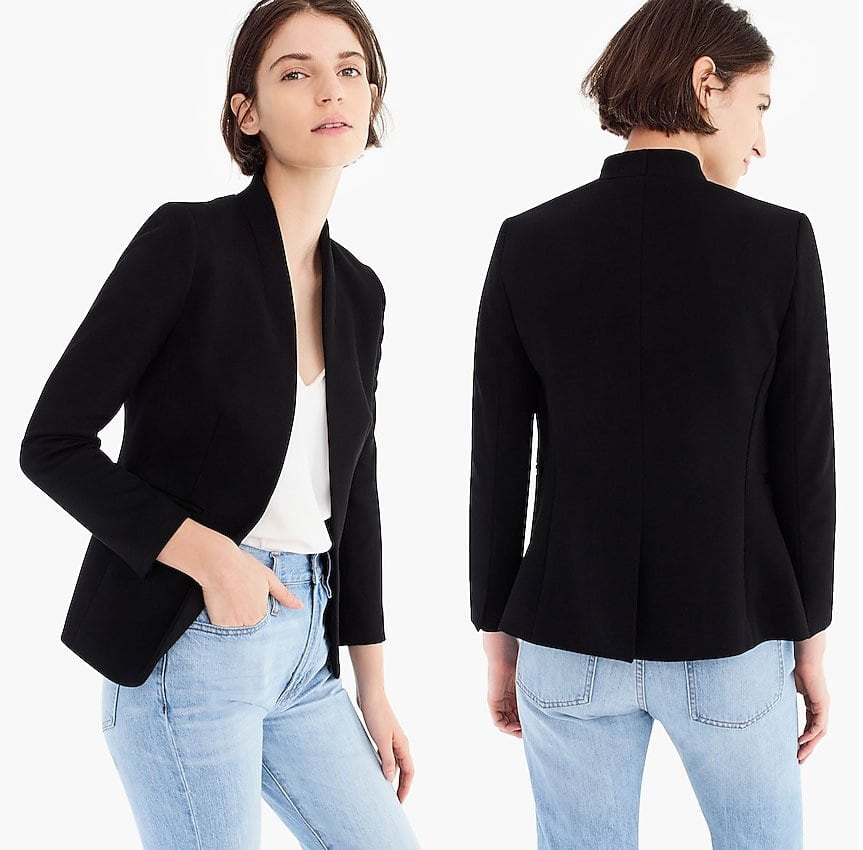 J.Crew is an American specialty retailer that offers an assortment of apparel, including business casual outfits