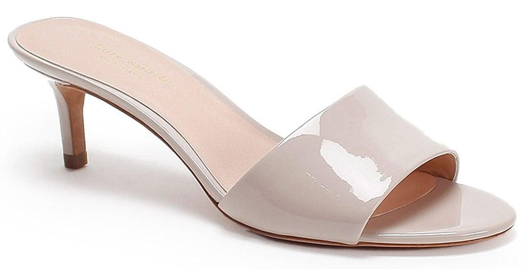 Practice wearing heels with kitten heels