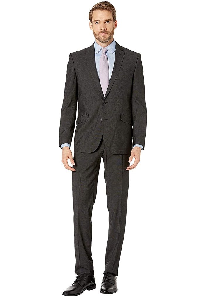 You'll surely be picked for jury duty in this fashion-forward yet smart Kennet Cole pantsuit