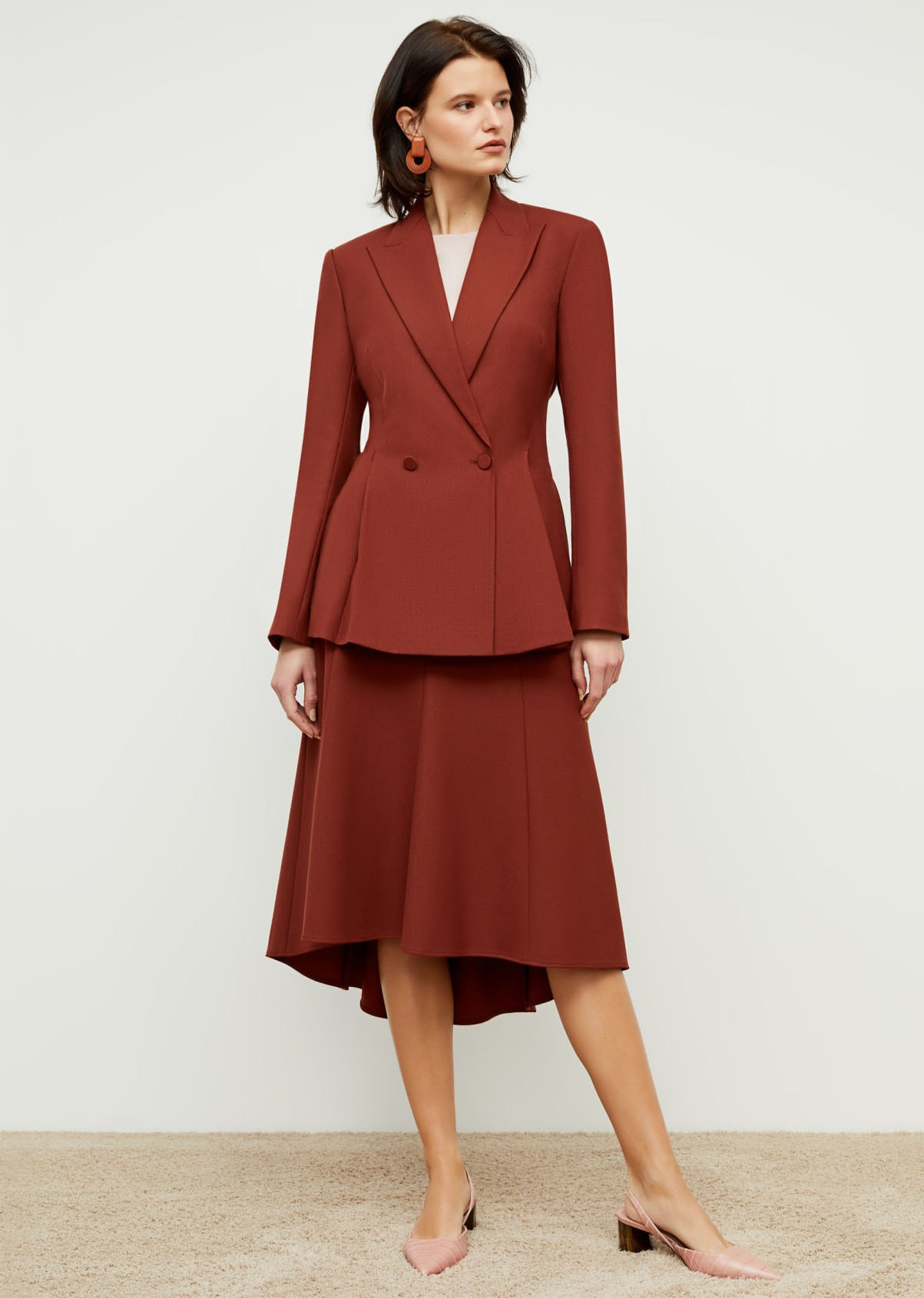 The New York-based professional womenswear label also offers couch-to-conference sets