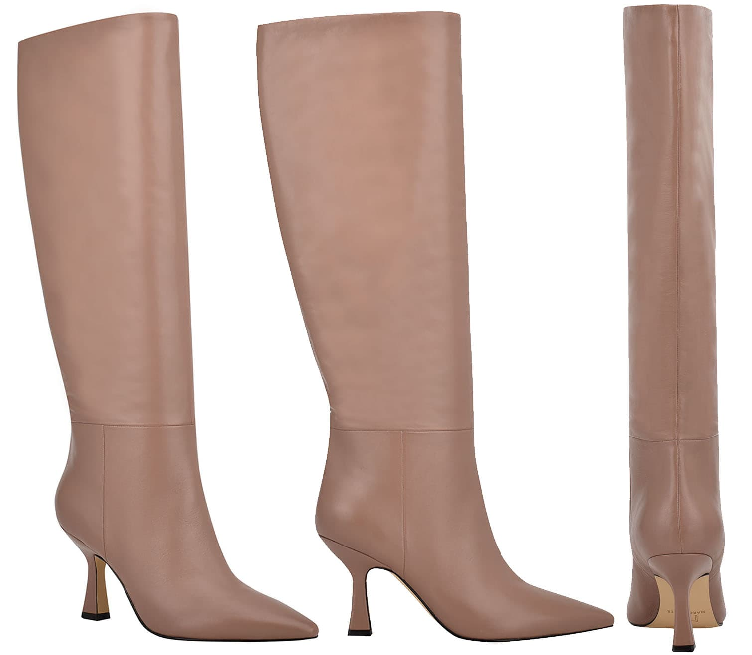 Slip into a pair of Marc Fisher Hallie knee-high boots and leggings for a perfect winter look