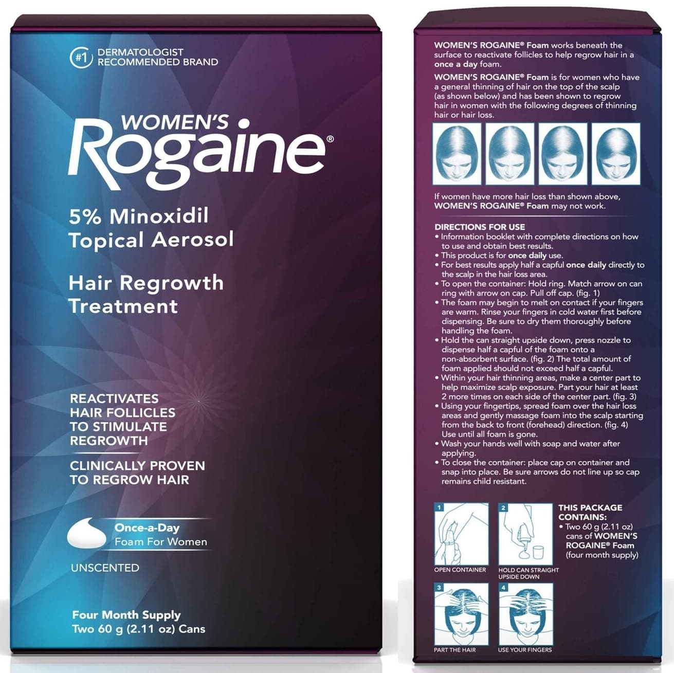 Revive hair follicles to regrow thicker, fuller, younger-looking hair