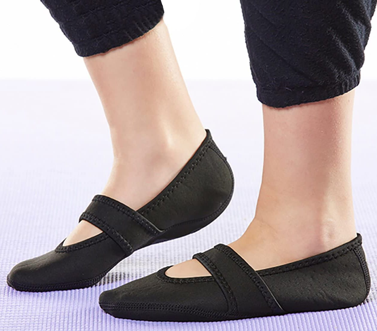 This style from Nufoot combines the elegance of ballet flats with the fun style of Mary Janes