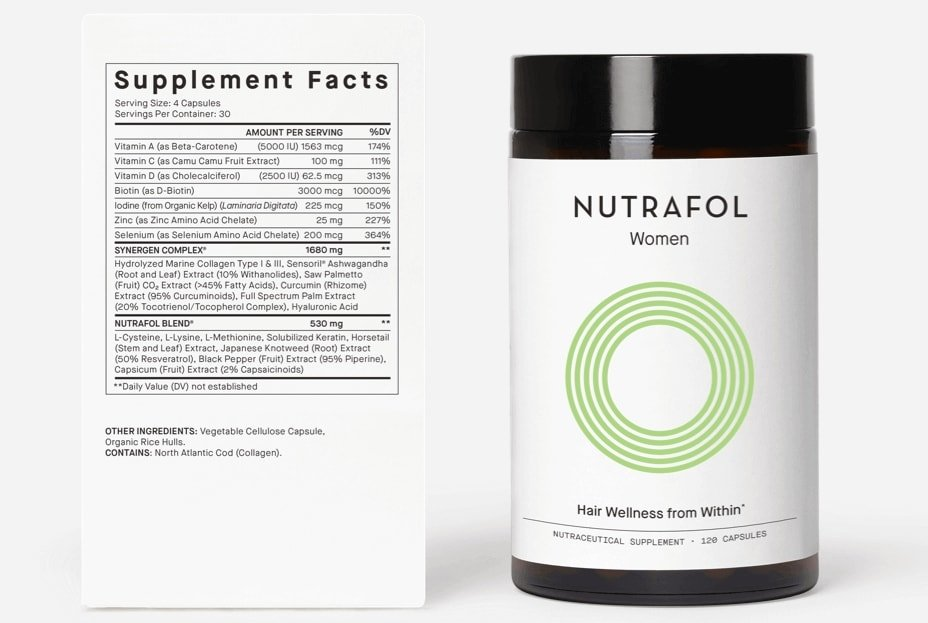 Improves hair growth with visibly more thickness and strength