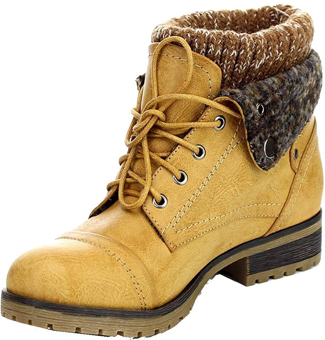 Chic yet sturdy, the Refresh Wynne-01 boots will add a stylish finish to your cold-weather outfit