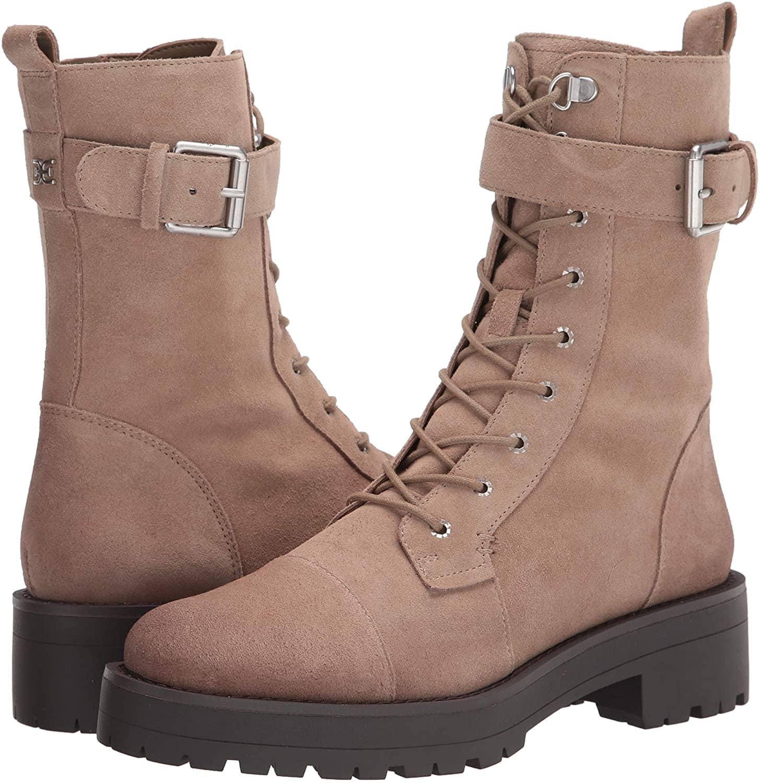 The Sam Edelman Junip boots are also available in safari tan colorway