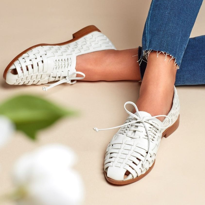 Sam Edelman's Rishel woven Oxford is perfect with jeans