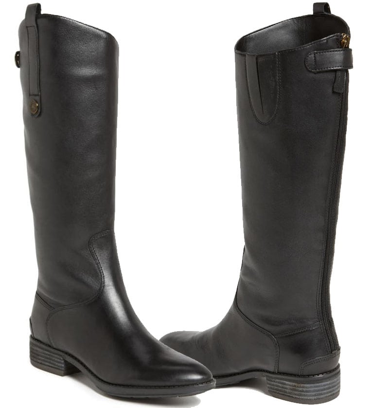 Sam Edelman's all-time best-selling Penny riding boots are perfect for casual or equestrian use
