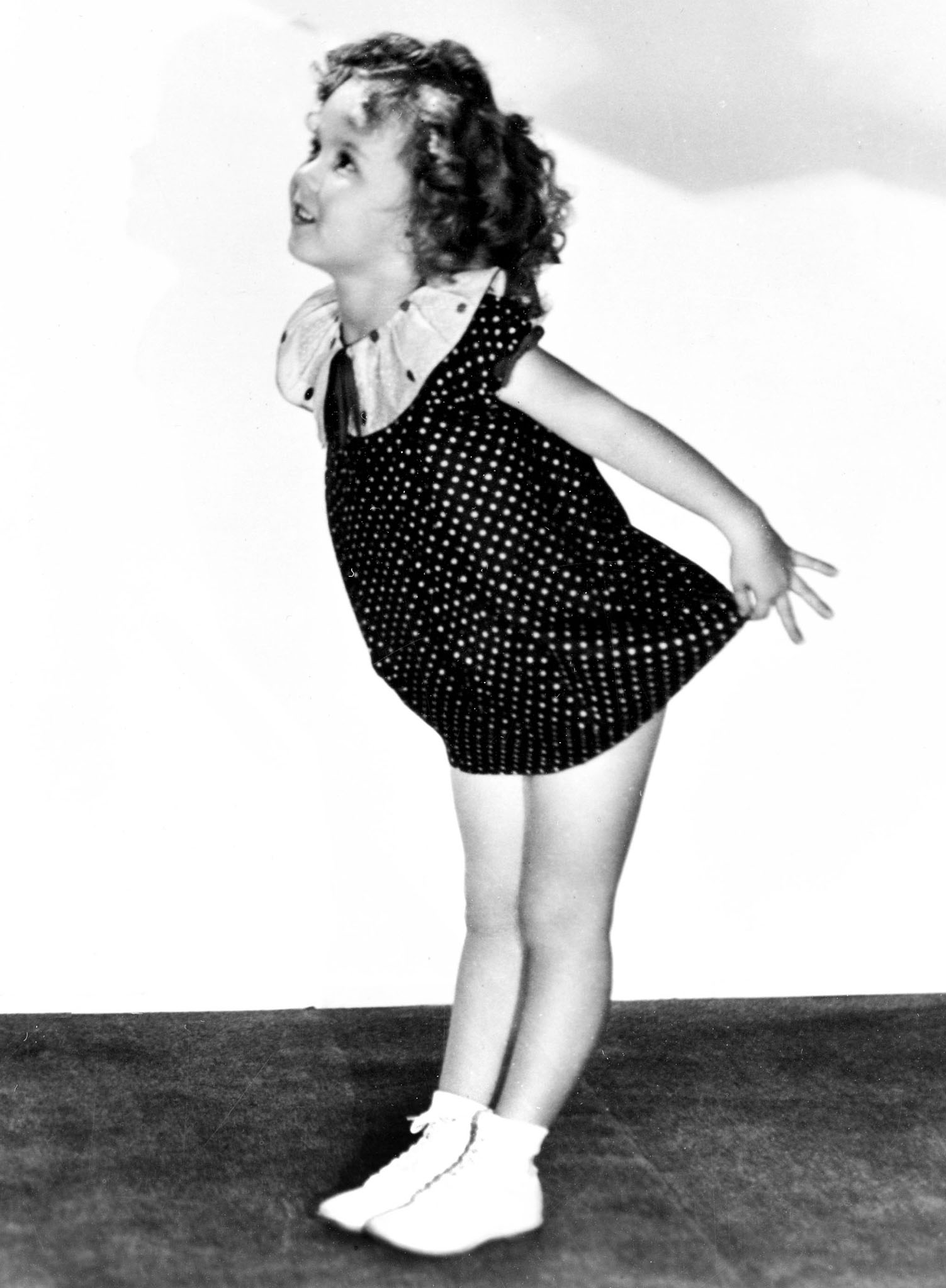 Mary Janes boomed in the 1930s after little Shirley Temple wore a pair in Baby, Take a Bow movie