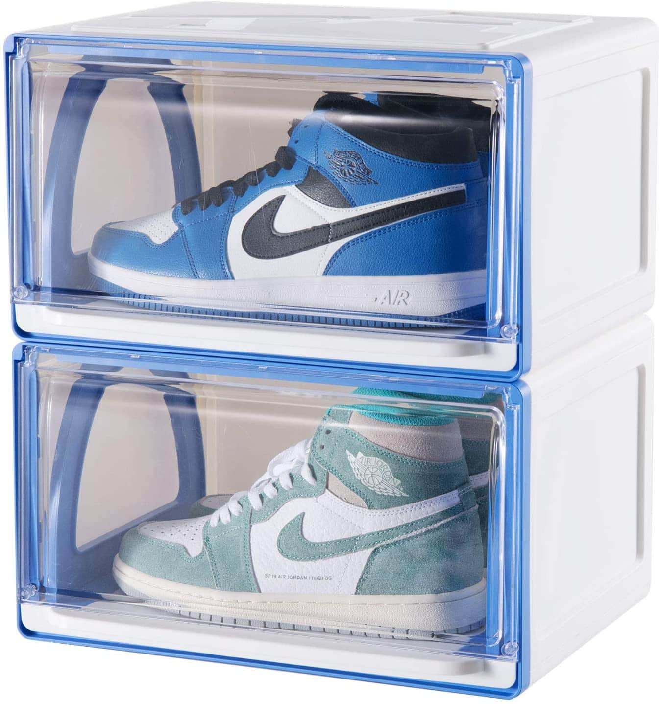This shoe organizer can make your expensive and favorite shoes a good collection and display