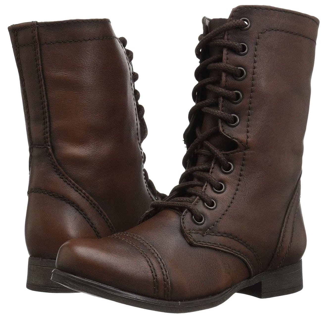 The Troopa boot comes in an array of colorway, including classic brown leather