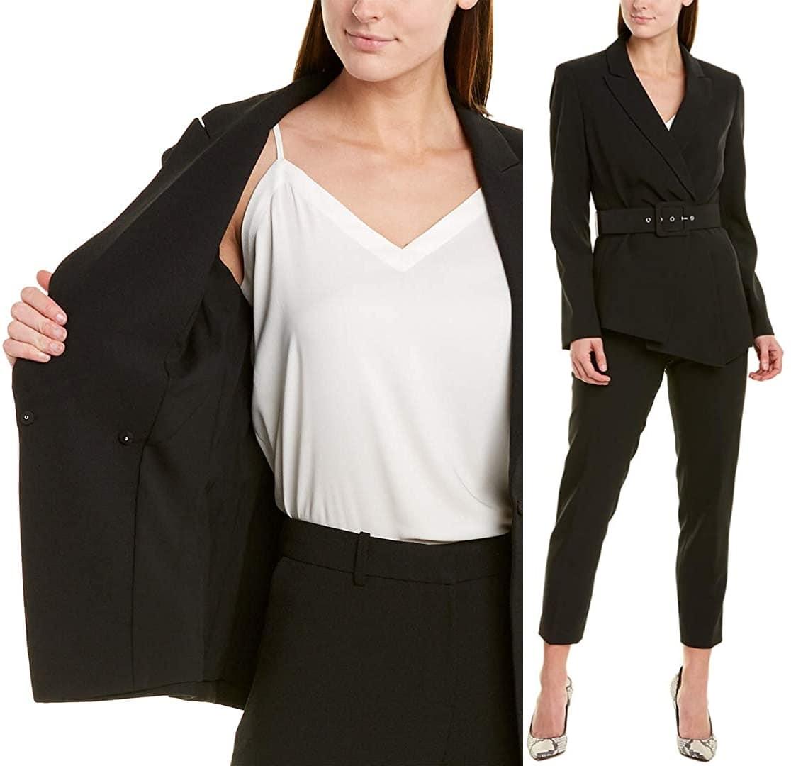 The Tahari ASL pantsuit would make a great alternative to dresses