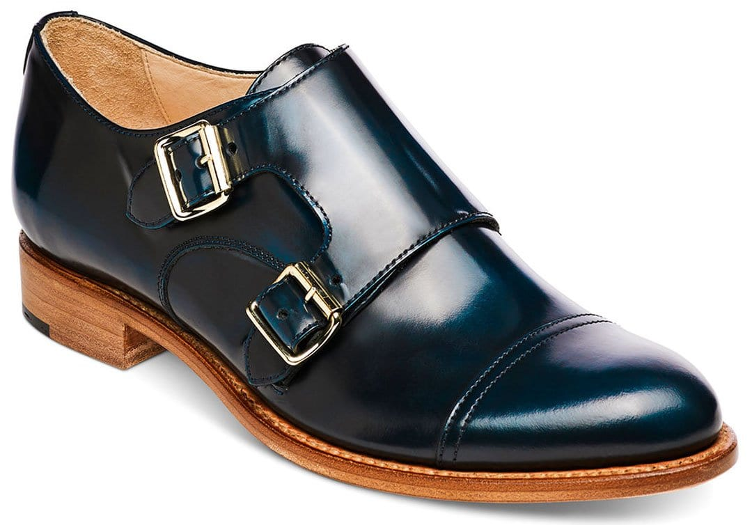 A tailored monk-strapped oxford for professional women