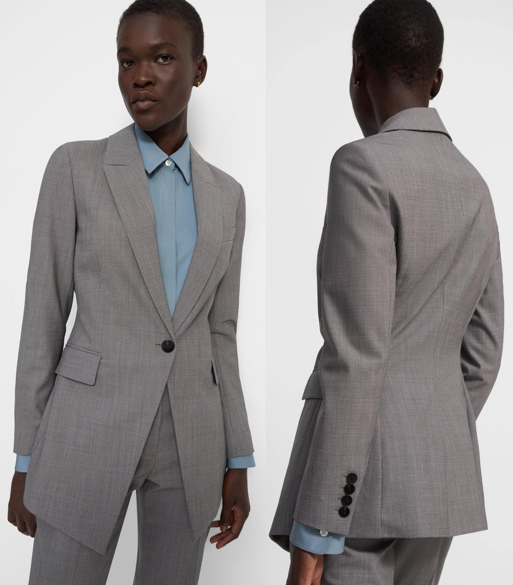 For quality classic office wear, visit New York-based contemporary clothing label Theory