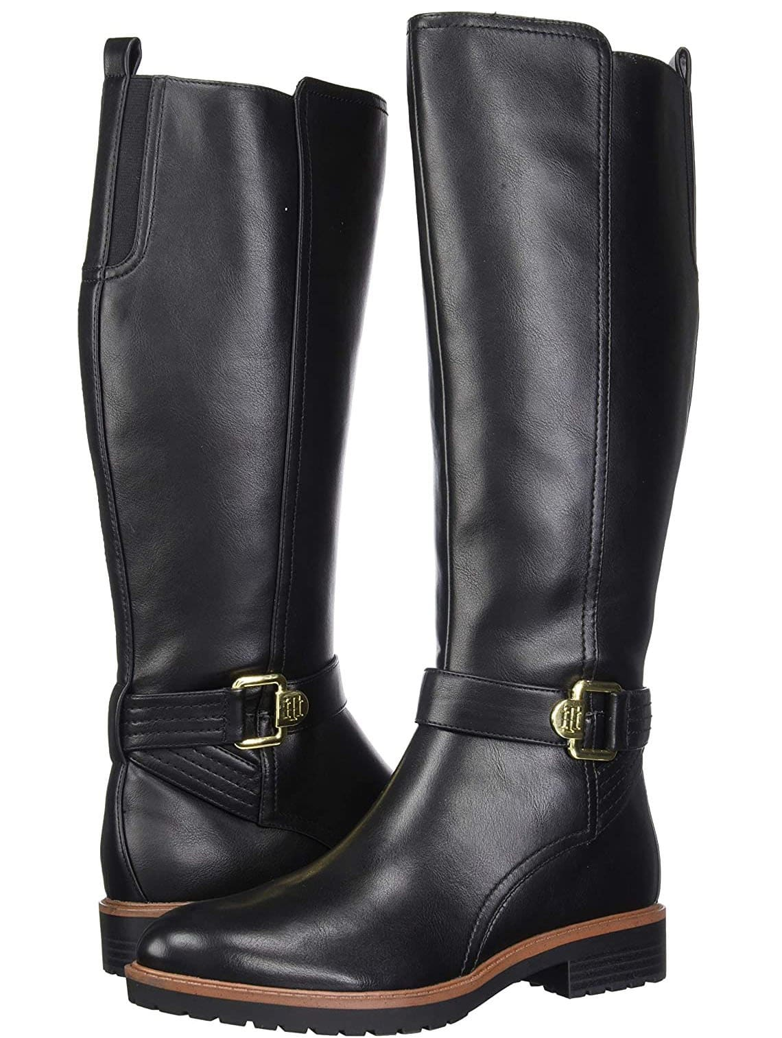 Tommy Hilfiger also has a selection of equestrian-style boots