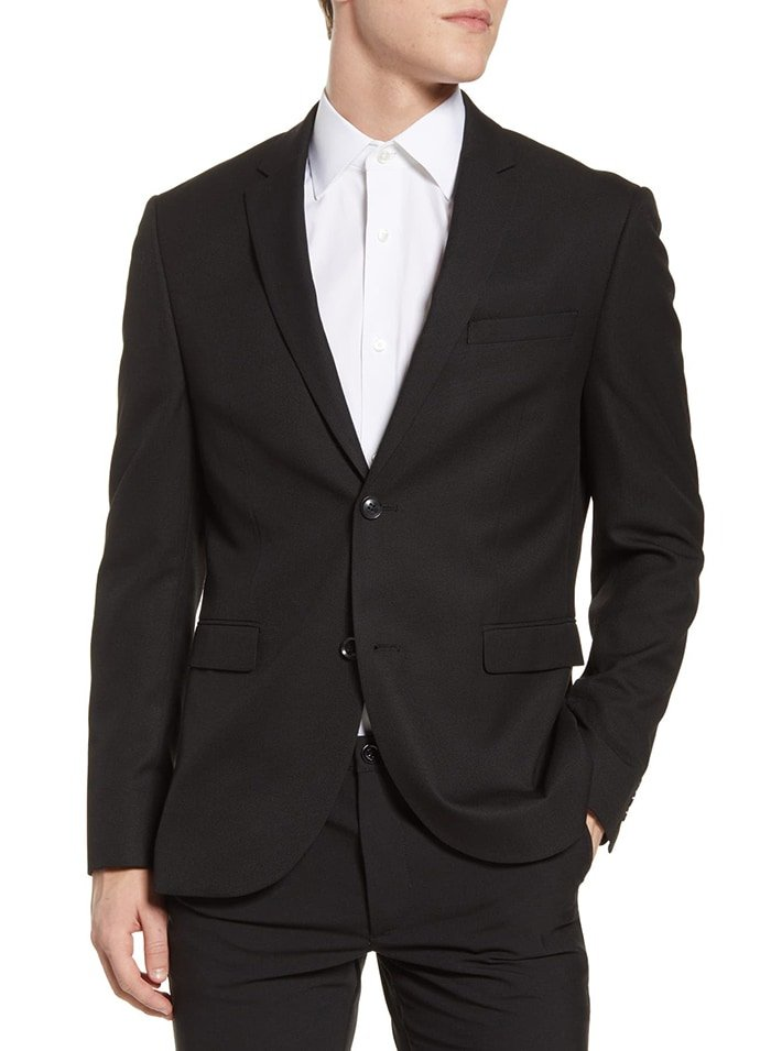 Adding a blazer or a jacket should put your funeral look together