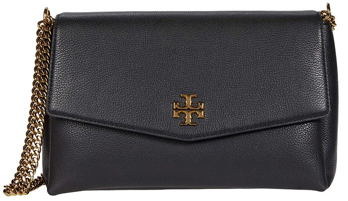 Carry your essentials in an understated, minimalist handbag like the Tory Burch Kira