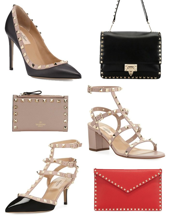 Valentino's famous Rockstud collection