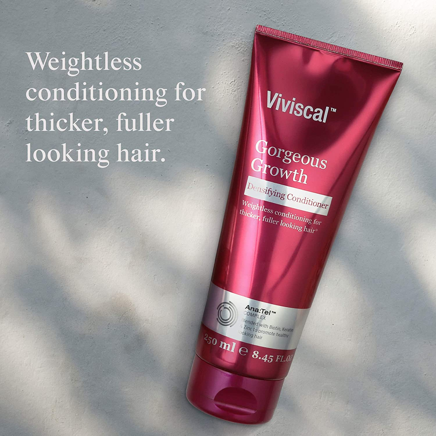 Weightless conditioning for thicker, fuller-looking hair