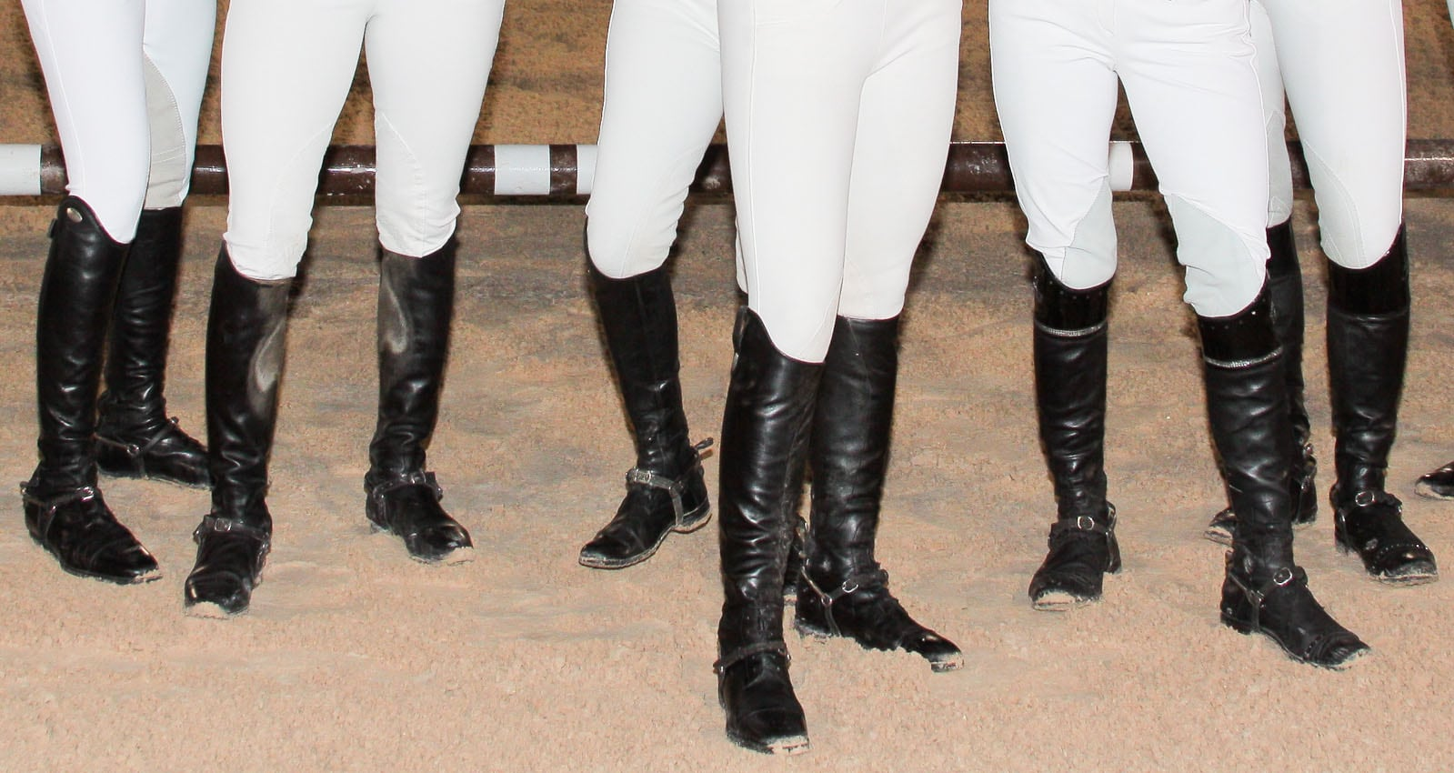 Add an equestrian twist to your look with leather riding boots